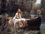 The Lady of Shallot by John William Waterhouse